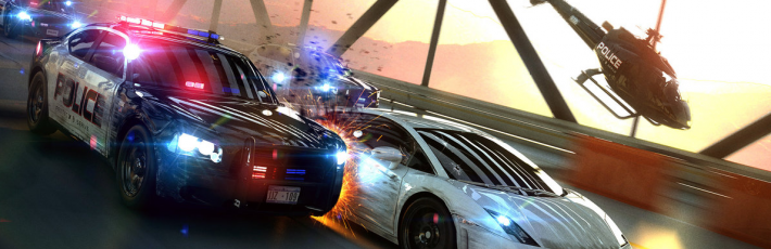 Need for Speed: Most Wanted with SweetFX (SMAA)